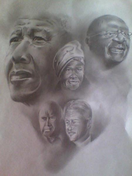 Nelson Mandela by Andilecana1